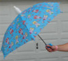 "Children Automatic 33"" Umbrellas W/ Cup  (Super-Cute First Umbrella For Your Child, With A Fun Safety Whistle)"