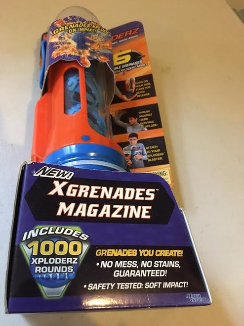 New Xploders Xgrenaders Magazine 1000 Rounds
