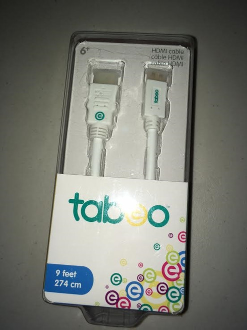Tabeo HDMI 9ft Cable