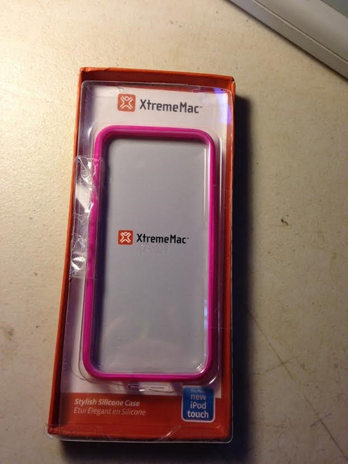 Ipod Touch Pink Silicone Case