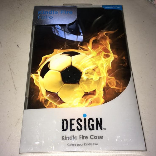 Kindle Fire Folio design Soccerball case
