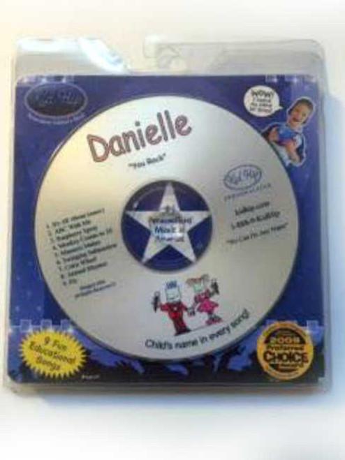 KID HIP Personalized Name (Danielle) CD- Hear Your Child's Name 50x In The Music