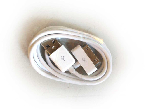 iPhone 4/iPod/iPad 3ft 30 pin Charging Cable WHITE
