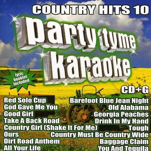 Party Tyme Karaoke: Country Hits Volume 10 by Sybersound (CD) - Brand new