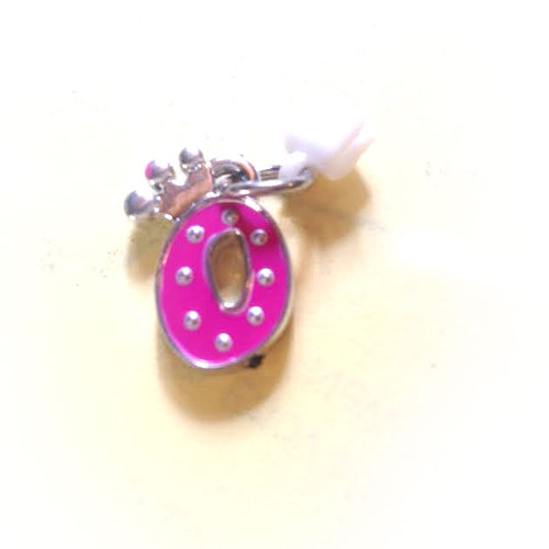 Pop Girl Ear Bud Charms : Letter O