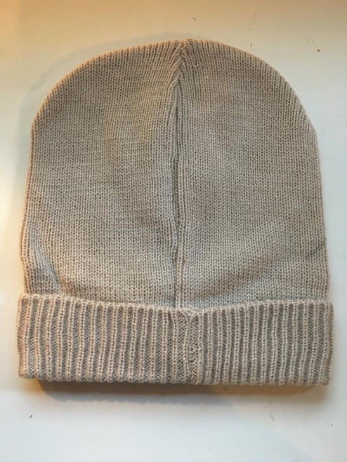 Ladies/Mens Unisex Ski Beanie Beige