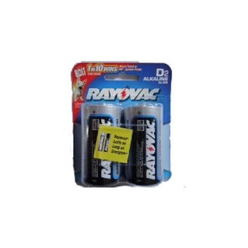 D Cell Rayovac Battery 2-Packs (Factory Fresh, As Low As $2.49 Per 2-Pack)