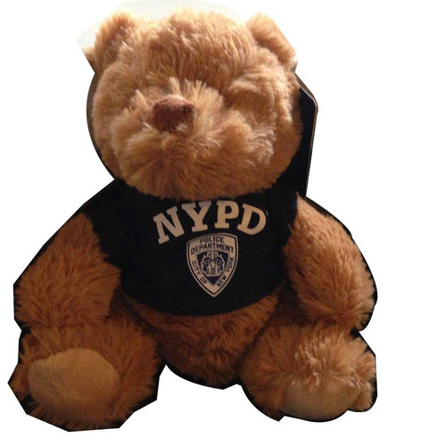 8'' Plush Teddy Bear NYPD
