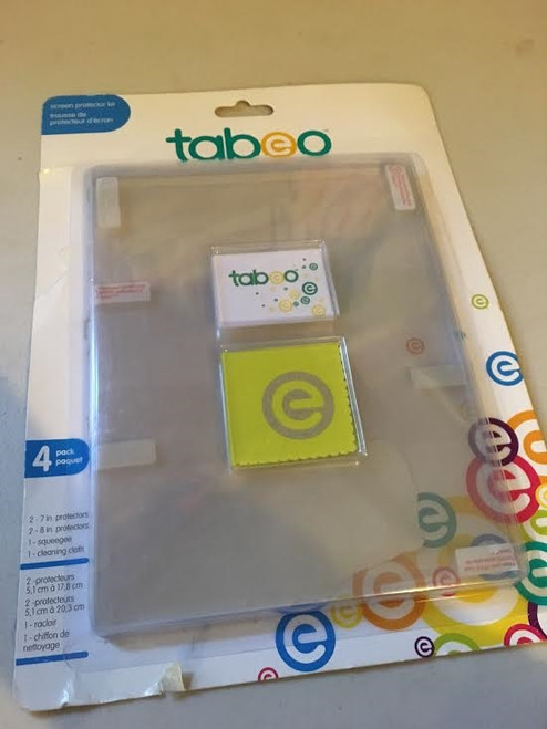 Tabeo Screen Protector Set for Tabeo Tablet