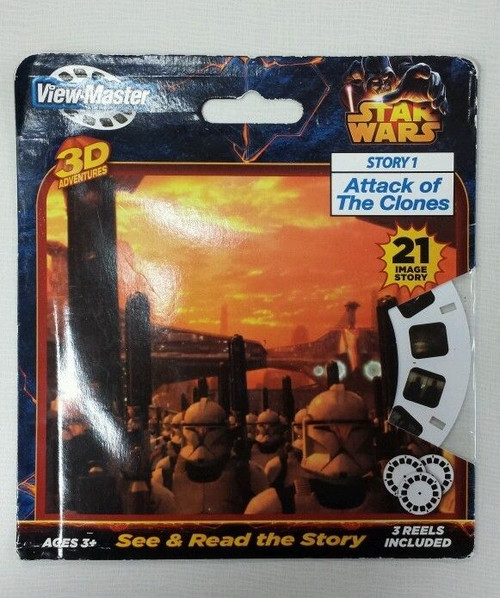 Star Wars: Story 1 Attack Of The Clones  3D Adventure