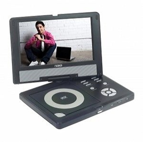 Naxa 10'' TFT LCD Swivel Screen Display Portable DVD Player USB/SD/MMC Inputs mo