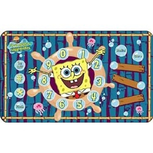 Sponge Bob Poster SpongeBob Poster Wall Speakerphone, with Kid's Speed Dial Buttons