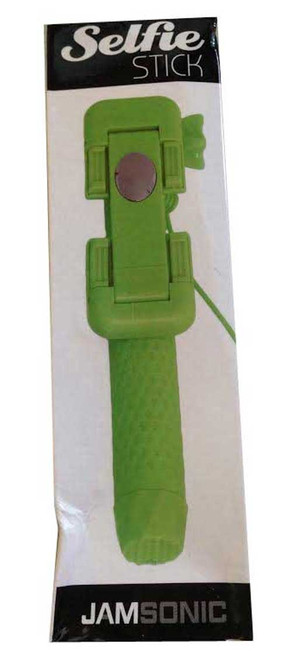 Jamsonic Pocket Selfie Stick WIRED GREEN