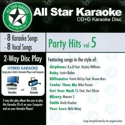 All Star Karaoke - Party Hits Vol 5