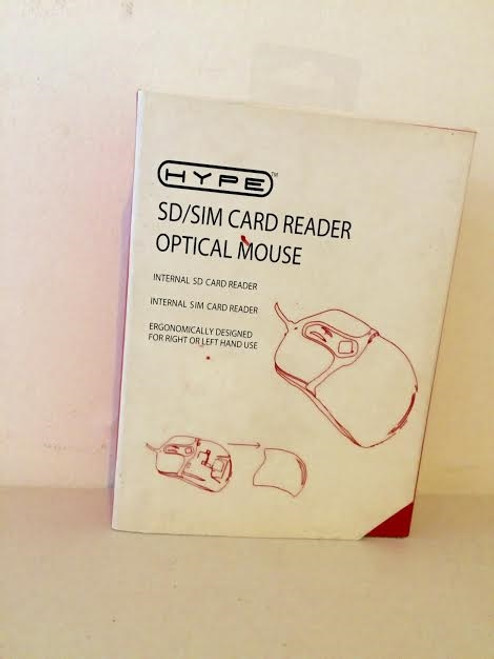 Hype SD/SIM Card Reader Optical Mouse Internal card reader HY-7008-M