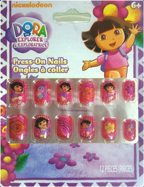 Dora The Explorer Press On Nails