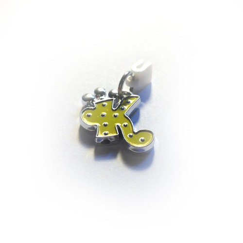 Pop Girl Ear Bud Charm: Letter K