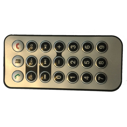 Replacement Remote for Bluetooth Car FM Transmitters - BRAND-NEW