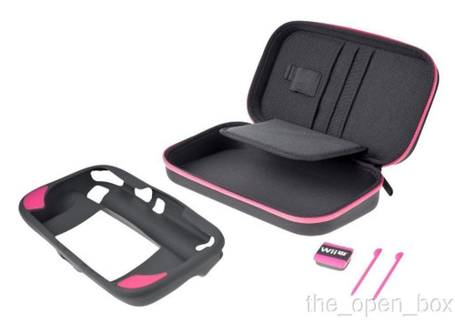 Official Nintendo Power A Gamer Essentials Kit for Wii U - Pink