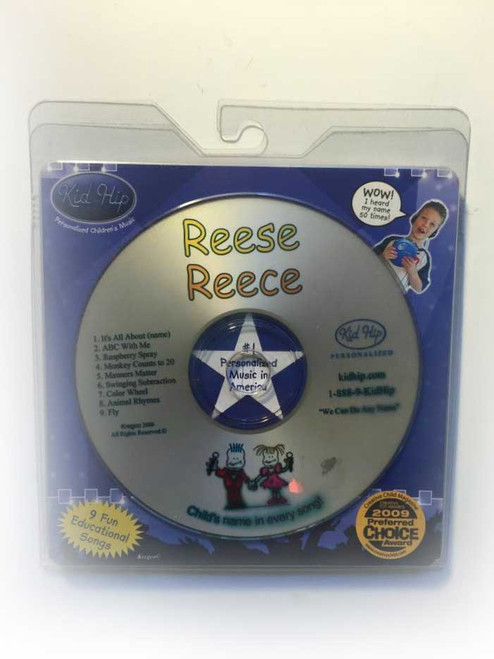 KID HIP Personalized Name (ReeseReece) CD- Hear Your Child's Name 50x In The Music