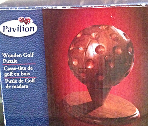 Pavilion Wooden Golf Puzzle