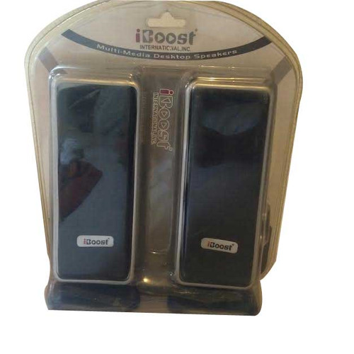 iBoost Multi Media Desktop Speakers model # 80560