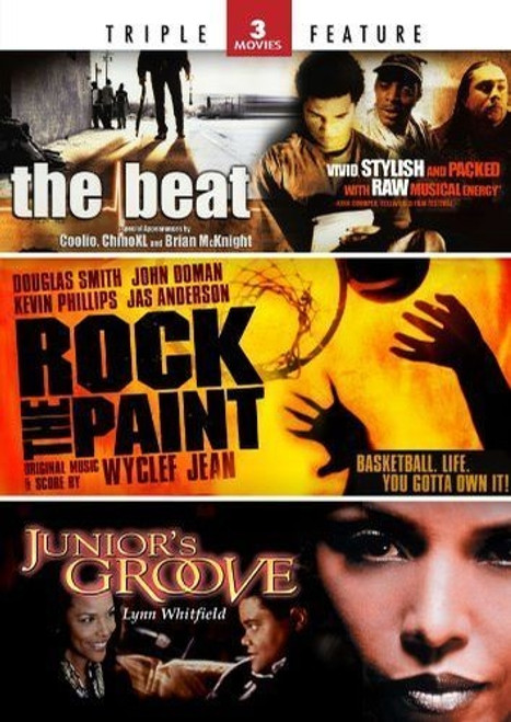 The Beat/Rock the Paint/Junior's Groove (DVD, 2011, 2