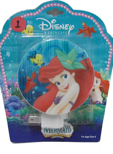 Ariel Night Light: Flower In Hair
