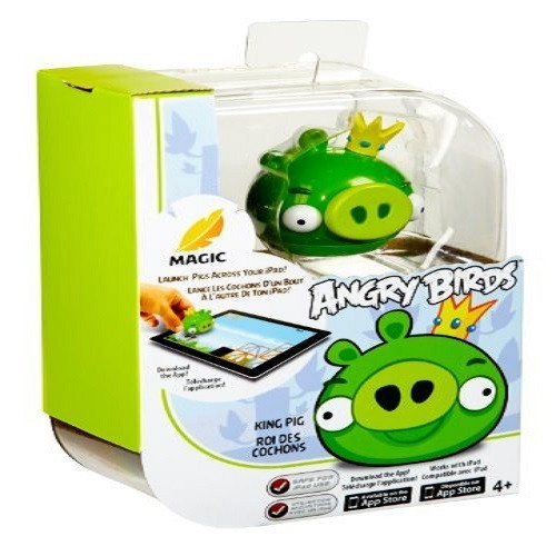 King Pig With Angry Birds Magic Works With Ipad Brand new in box