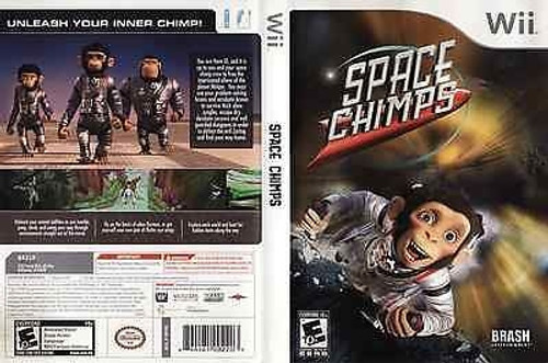 Space Chimps (Wii, 2008) Brand New And Sealed!