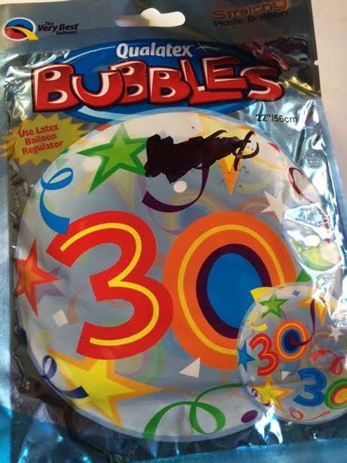 2x Qualatex Bubbles The Very Best Balloons 30