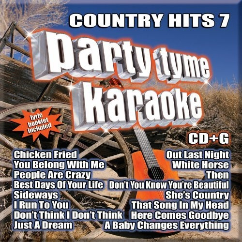 Party Tyme Karaoke: Country Hits Volume 7 by Sybersound (CD) - Brand new
