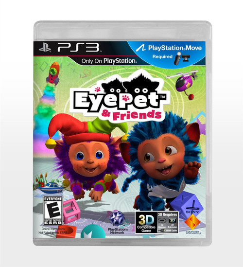 EyePet & Friends Sony Playstation 3 2011 Brand New And Sealed!