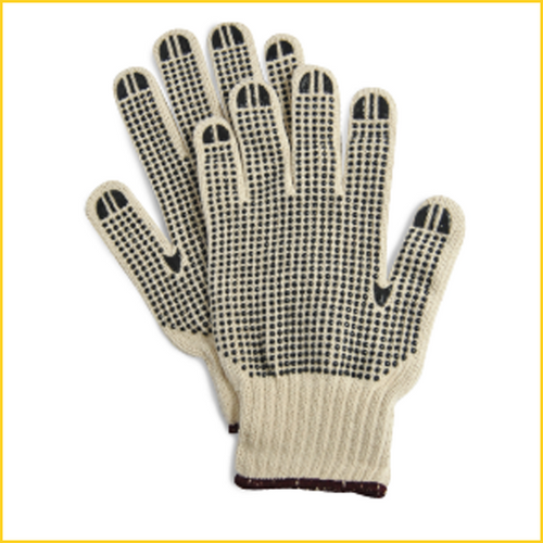 limit 1 for $1  2 pair / Rubberized Grip Anti-Slip Work Gloves / Gardening / Equestrian Grip