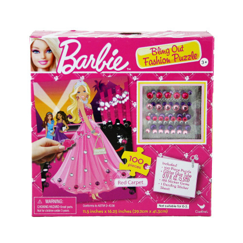 Barbie Bling Out Fashion Puzzle 100 pieces