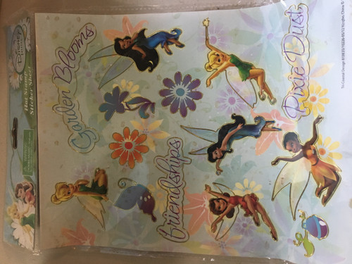 Disney Fairies Stamp Sticker Sheet