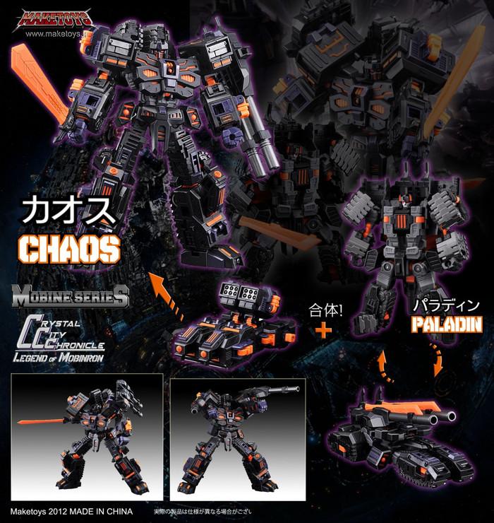 Maketoys - Mobine Series - Chaos + Paladin