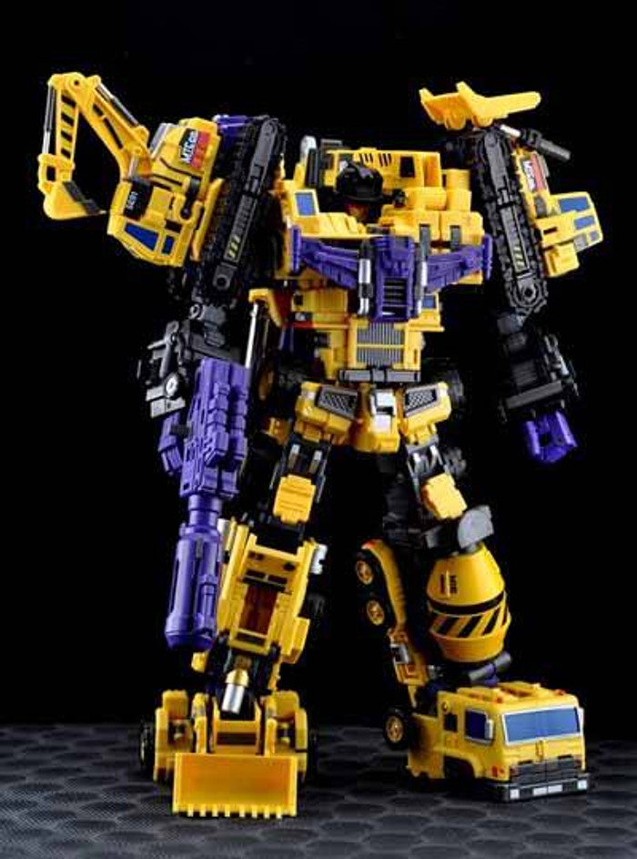 Maketoys - MTCombiner - Yellow Giant - Complete Set