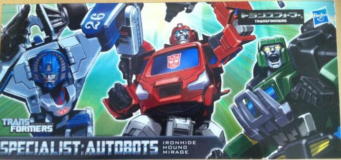 Henkei Classics - Autobot Set #1 - Ironhide, Hound and Mirage
