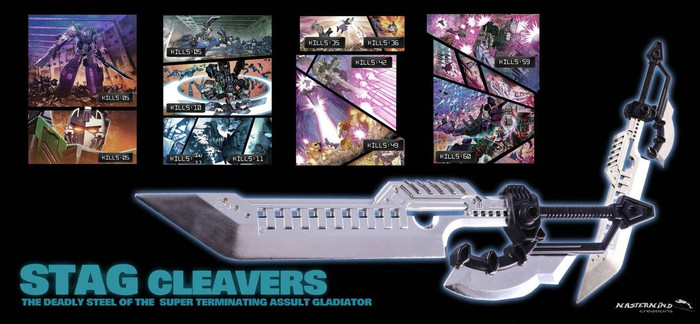 Reformatted STAG Cleavers