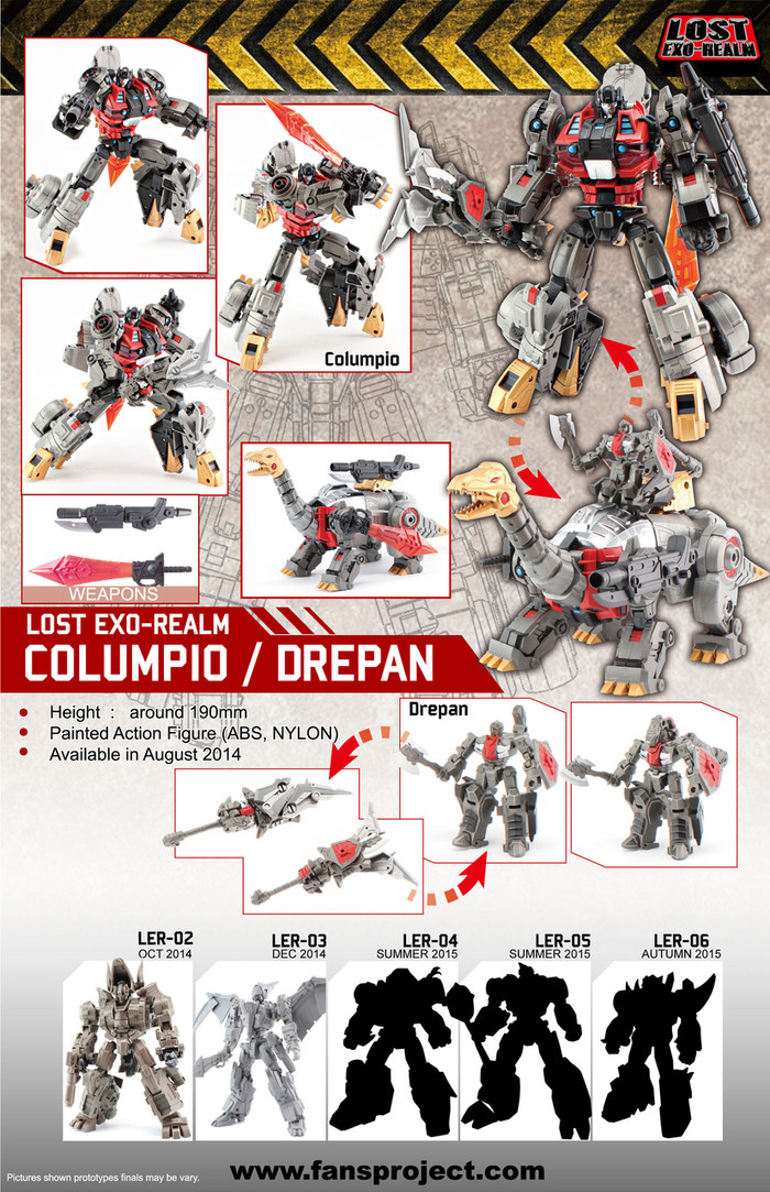 FansProject - Lost Exo Realm LER-01 - Columpio & Drepan