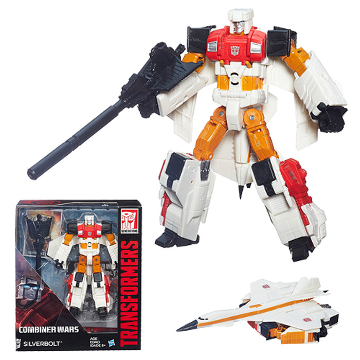 Transformers Generations Combiner Wars Voyager Series 01 - Silverbolt