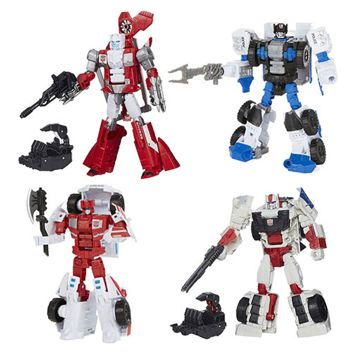 Transformers Generations Combiner Wars Deluxe Wave 3 - Set of 4