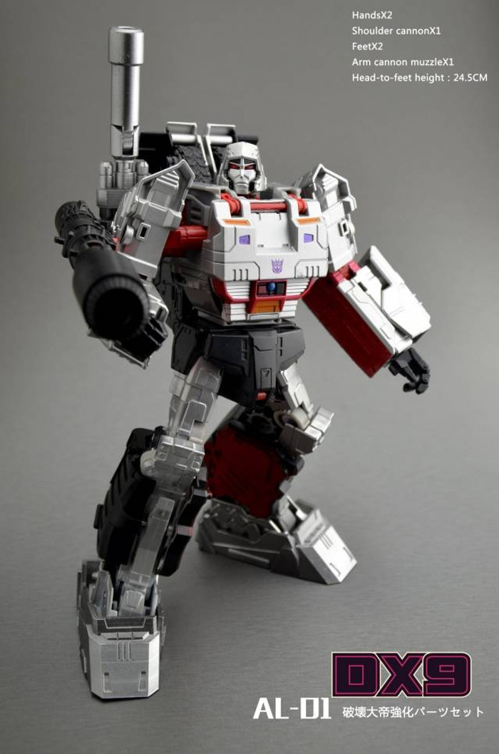 DX9 - AL-01 Leader Class Megatron Upgrade Kit