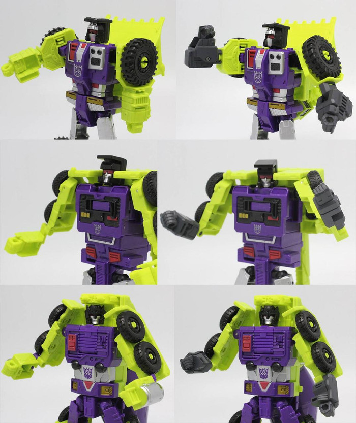 Perfect Effect - PC-07 Perfect Combiner Upgrade Set for Combiner Wars Devastator Individual Robots