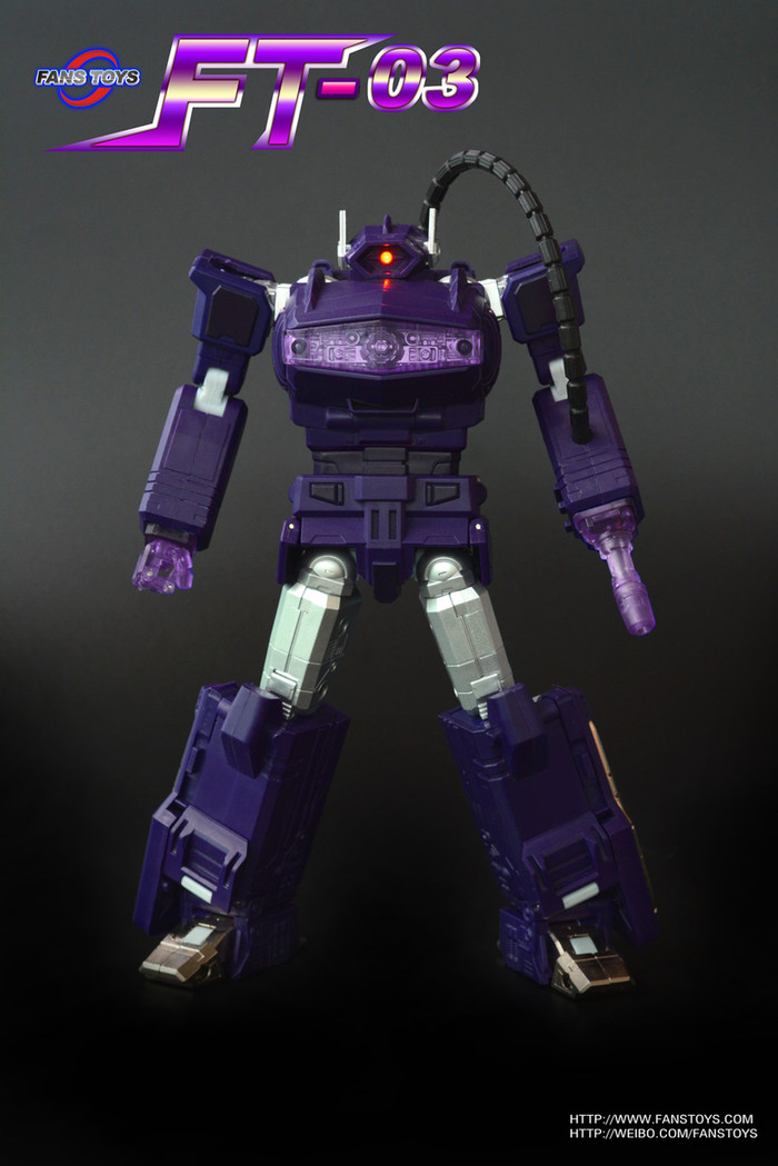 Fans Toys - FT-03 Purple Quake Wave Reissue