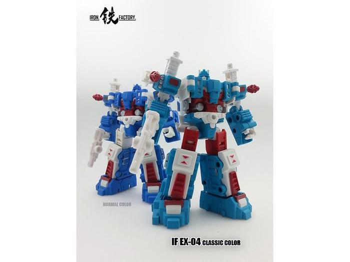 Iron Factory - IF-EX04c City Commander (Classic Color)