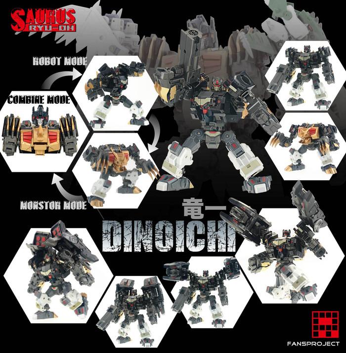 FansProject - Saurus Ryu-Oh: Dinoichi
