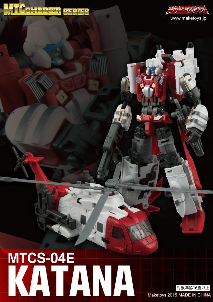 Maketoys Combiner Series - MTCS-04E - Katana (Guardia)
