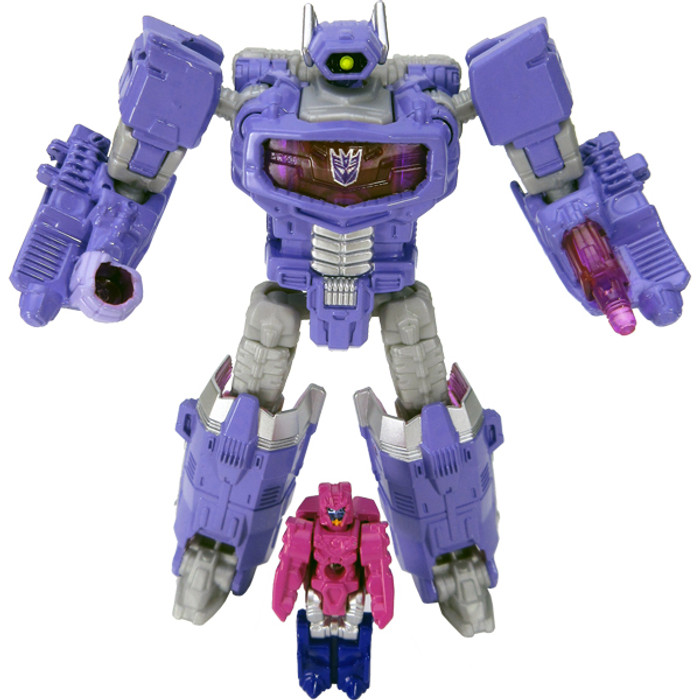 Takara Transformers Legends - LG24 Shockwave & Cancer